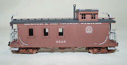 Hon3 Brass Hallmark Dandrgw Long Caboose 0505, Professionaly Painted