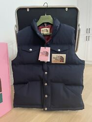 The X Down Vest Navy Size Medium - New With Tags