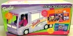Rare Htf Barbie 2001 Jam N Glam Concert Tour Bus Stage With Lights Sound Iob