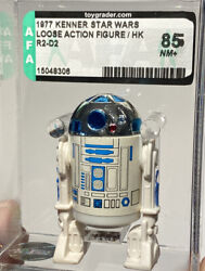 Afa 85 Star Wars 1977 Loose R2-d2 Droid Made In Hong Kong First 12 Kenner R2 Nm+