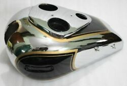 Ariel 500cc Red Hunter Gas Fuel Petrol Tank Chromed And Black Painted