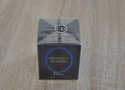 Midnight Poison Christian Dior 50ml Edp Discontinued New In Box Sealed