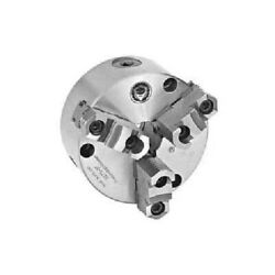 New Bison 3-jaw 2 Pc Scroll Chuck Semi-steel Body, Front Mount, 10 Plain Back