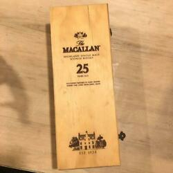 The Macallan 25 Year Whisky Empty Boxss-