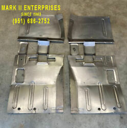1966-1969 Lincoln Continental Left And Right Front And Rear Floor Patch Pans New