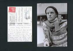 Author Truman Capote Autograph, Handwritten Postcard Signed And Mounted