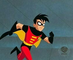 Bruce Timm Rare Robin Cel Running Growing Pains Btas Wb Coa Dynamic Pose