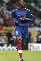 Soccer William Gallas French National Team Autograph In-person Signed Photo