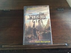 The Windup Girl By Paolo Bacigalupi, Signed 1st/1st Printing 2009, Hardcover