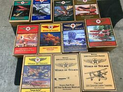 Wings Of Texaco Collection Set Of 11 Never Out Of Their Box
