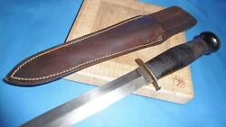 M3 Case Military Paratrooper Fighting Knife World War Hero Xx Survival Tactic
