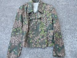 Wwii Elite Forces Camouflage Armored Jacket And Trousers Prop From Movie Fury