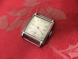 Gents Early Roye Curvex Watch Head Spares Or Repair Project Freepost Wire Lugs