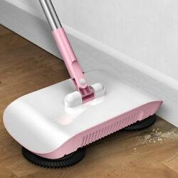 Automatic Spin Sweeper All-in-one Floor Brush Broom Duster And Dustpan Long Handle