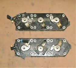 Mercury 135 Hp 2 Stroke Cylinder Head Assembly Pn 878109t1 Fits 2000-2006