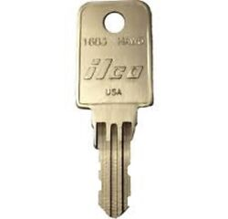 Haworth Desk Cabinet Replacement Keys Series Hw001 - Hw250 Made By Gkeez