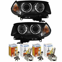 Xenon Headlight Set For Bmw X3 Year 06-10 Facelift With Adaptive Light D1s+ H7+