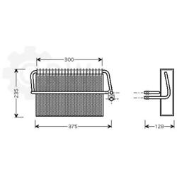 Evaporator Air Conditioning Mercedes-benz S-class Coupe C215 W220 S 320