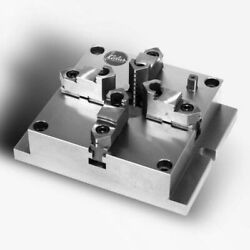 New 4 Jaw Front Mount Dead Length Collet Chuck - 10 - Table Mount