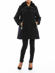 Luxury Moncler Calipso Womens Wool Down Coat Size 1. Brand New