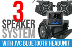 Ssv Works 3 Speaker Plug And Play Kit With Jvc Mr1 Receiver