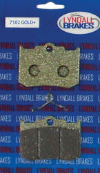 Lyndall Racing Brakes Gold Plus Brake Pads For Aftermarket Calipers 7182-gplus