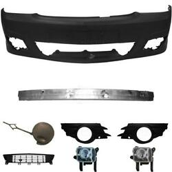 Set Bumper Front Primed For Vauxhall Meriva A Year 06-10 Carrier+accessory+fog