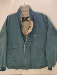Green Lighter Weight Jacket With John Deere Name In The Front K-products Usa