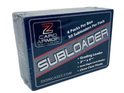 Subloader Semi Rigid Card Holder Case 2000 Ct- Great Quality For Half The Price