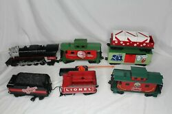 Lionel A Christmas Story G-scale Train Battery Operated W/ Remote 7 Cars