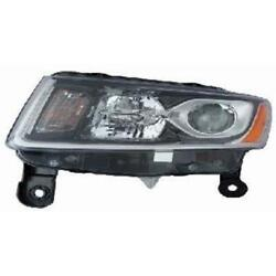 Front Headlight Right Halogen For Jeep Grand Cherokee Iv
