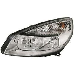 Headlight Right For Renault Scenic Ii Type Jm Phase I Year 03-06 Hella H7 +h1