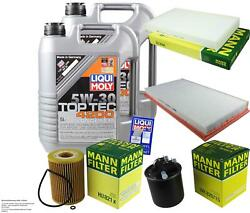 Inspection Kit Filter Liqui Moly Oil 10l 5w-30 For Mercedes-benz Bus Of