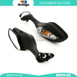 L/h+ R/h Hand Rearview Mirror With Signal Light Fit Honda Cbr1000ra 2009-2013