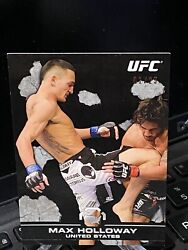 2013 Topps Ufc/bloodlines Max Holloway Rc Rookie Card /25 Black Ssp Rare 1/25