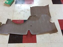 1941-1948 Chevrolet Coupe Trunk Mat New Taupe Ra5