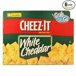 Cheezit White Cheddar Baked Snack Crackers, 36 Count