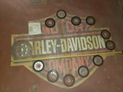 Harley Large Factory Semi-truck Decal