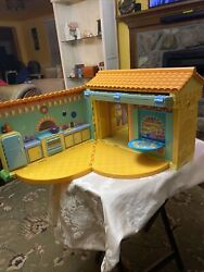 Dora The Explorer Pop-up Talking Doll House.not Included Dolls And Furniture