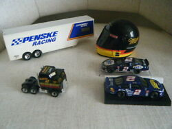 Rusty Wallace 2 164 Lot Tractor Trailor 1/4 Helmet Simpson 1st Edition Limited