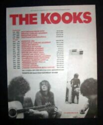 The Kooks Inside In/inside Out Uk Tour Dates 2006 Poster Type Advert, Promo Ad
