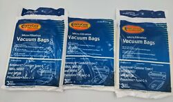10x Kenmore Canister Vacuum Cleaner Bags Type C For Models 5055, 50557, And 50588