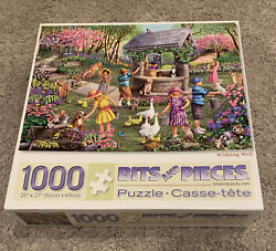 Bits And Pieces 1000 Piece Jigsaw Puzzle Wishing Well 20x27