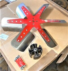 60and039s 70and039s Flex Fan 18 Inch 6 Blade Spacer Bolts Multi Patterns
