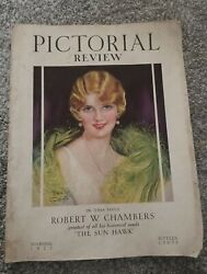 Vintage Ladies Fashion Sewing Home Magazine Pictorial Review November 1927