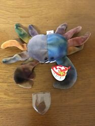 Ty Beanie Baby Claude The Crab 11 Errors 1996 Extremely Rare