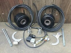 Winchgear Pair Of Air Braked Motor Adapters Suits Warn 8274 Gigglepin Comp