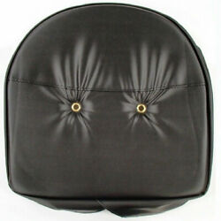 Black Tractor Pan Style Seat Cover Cushion Universal Fit For Pan Style Seats