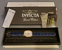 Rare Discontinued Mens Speciality Edition 18k Gold Watch Chronograph