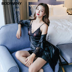 2020women Thin Sexy Suspenders Nightdress Chest Pad Pajamas Summer Two-piece Set